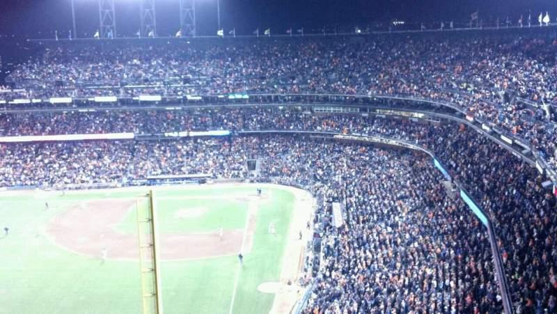 Vistas desde el asiento para AT&T Park Sección 335 Fila 18 Asiento 20