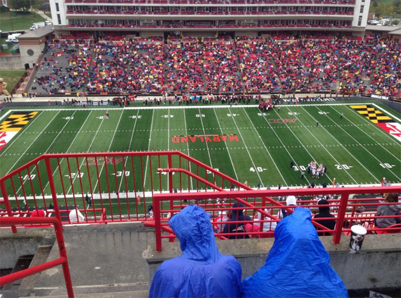 Maryland Stadium, sección: 306, fila: L, asiento: 1