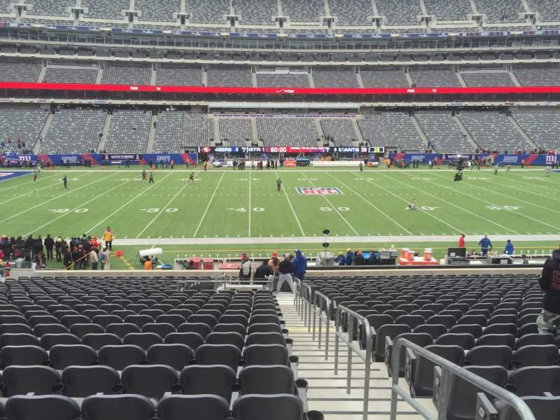 043e3165 MetLife Stadium, sección 140, fila 29, asiento 1 and 2 - New York ...
