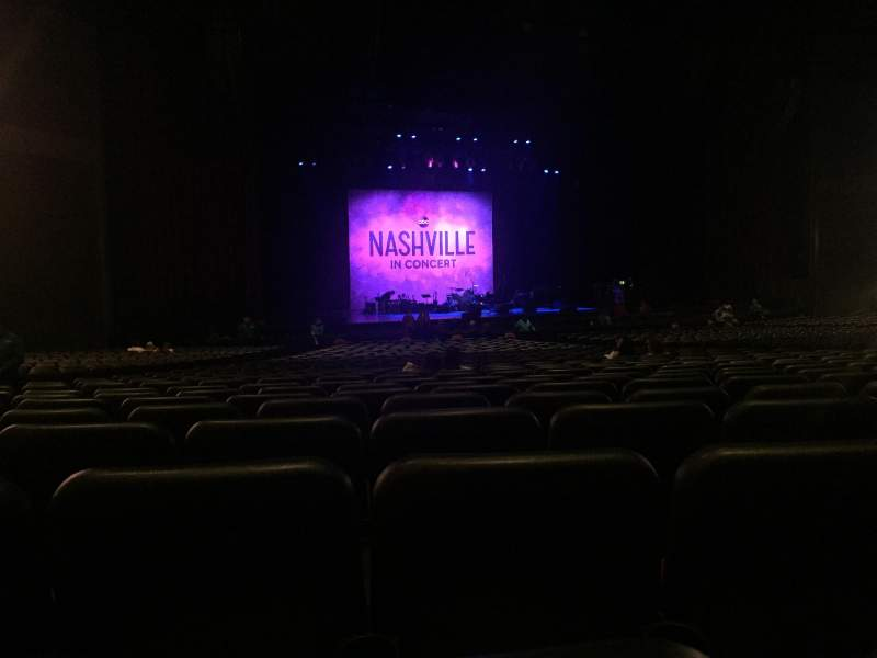 Microsoft Theater, sección: Orchestra Left Center, fila: FF, asiento: 416