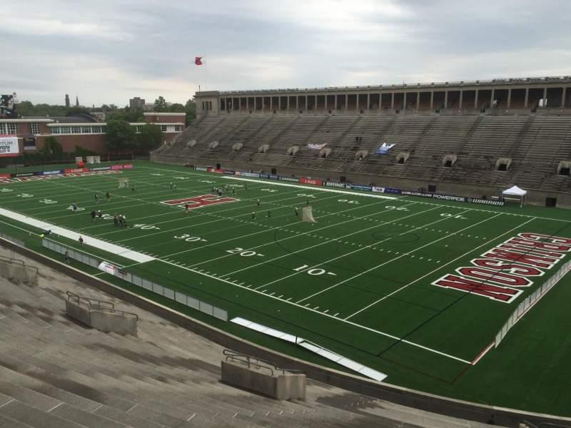 Vistas desde el asiento para Harvard Stadium Sección 25 Fila NN Asiento 8