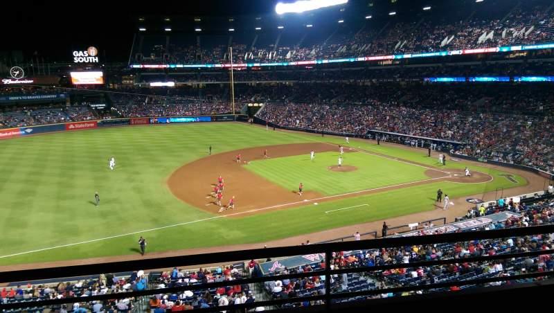 Turner Field, sección: 316, fila: 2, asiento: 108
