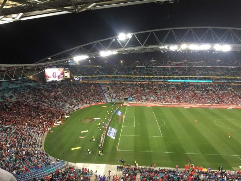 Vistas desde el asiento para ANZ Stadium
