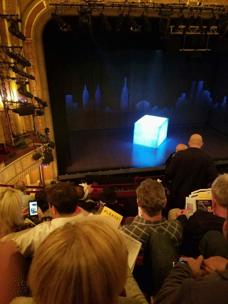 Vistas desde el asiento para Walter Kerr Theatre Sección Mezz Left Fila F Asiento 5