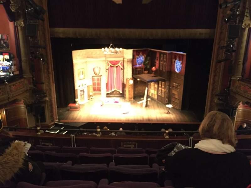 Vistas desde el asiento para Lyceum Theatre (Broadway) Sección Mezzanine C Fila F Asiento 106