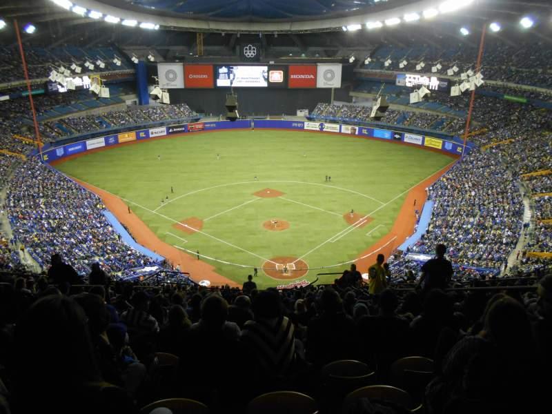 Olympic Stadium, Montreal, sección: 402, fila: R, asiento: 6