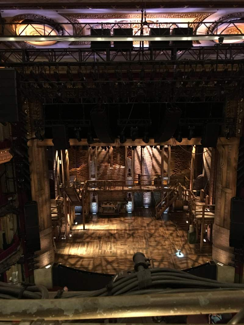 Vistas desde el asiento para PrivateBank Theatre Sección Balcony LC Fila A Asiento 401