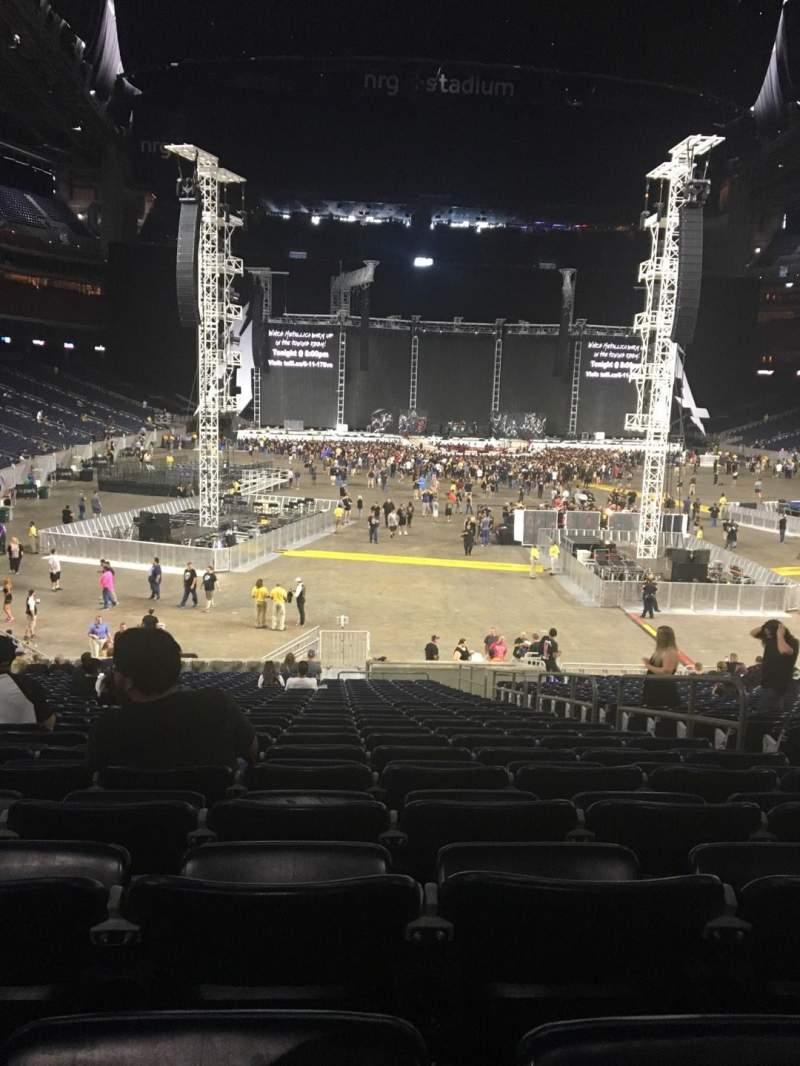 NRG Stadium, sección: 138, fila: CC, asiento: 5