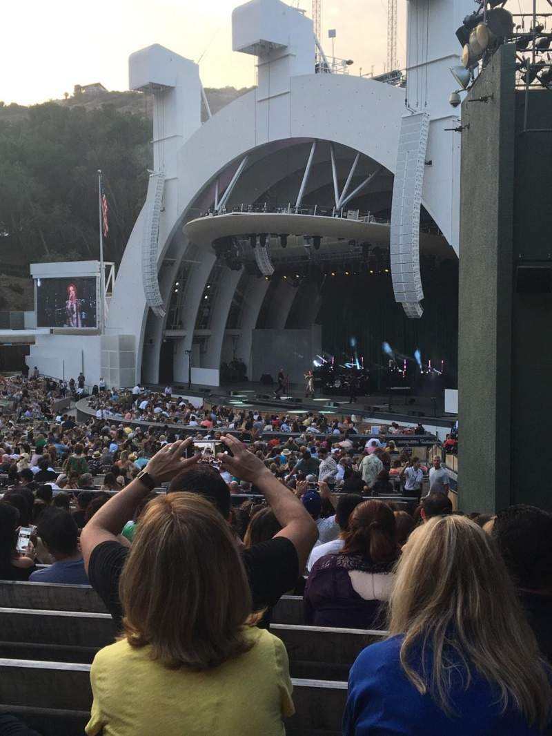 Hollywood Bowl, sección: D, fila: 13, asiento: 44