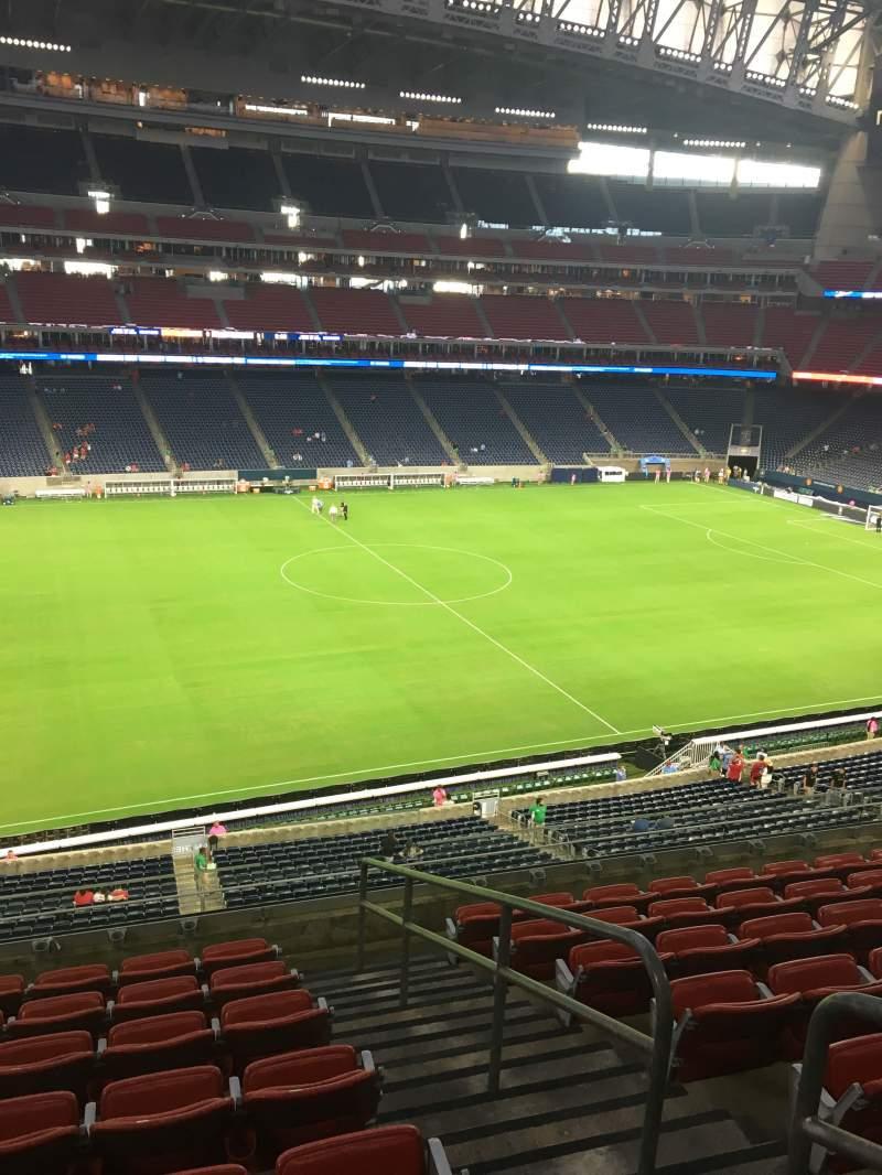 NRG Stadium, sección: 340, fila: P, asiento: 4