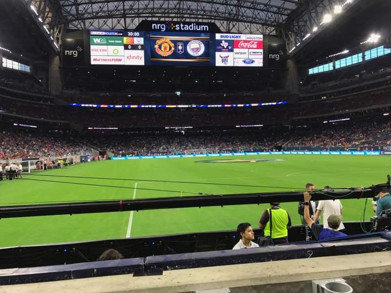 NRG Stadium, sección: 138, fila: B, asiento: 15