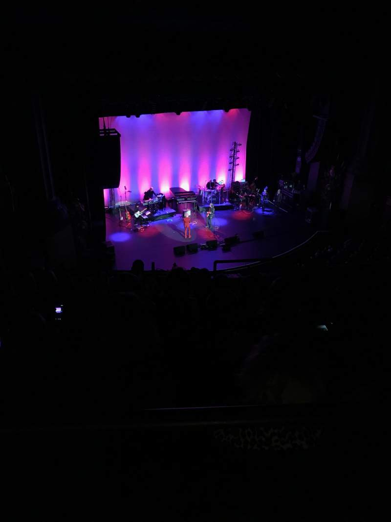 Beacon Theatre, sección: Upper Balcony Left Center, fila: K, asiento: 6