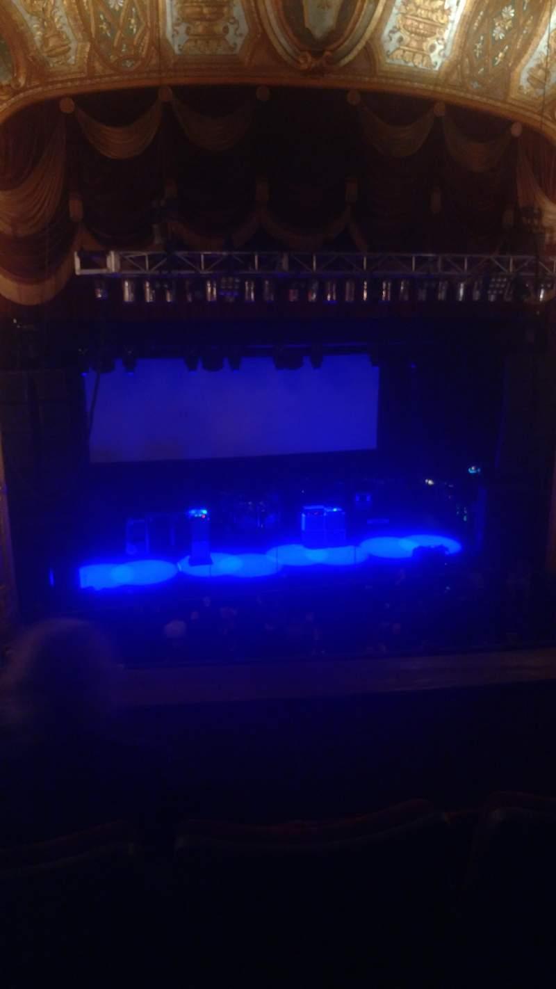 Vistas desde el asiento para The Fillmore Detroit Sección Love 3 Fila CC Asiento 9