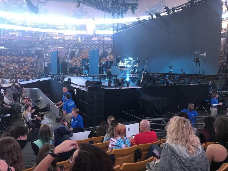 TD Garden, sección: Loge 21, fila: 6, asiento: 5