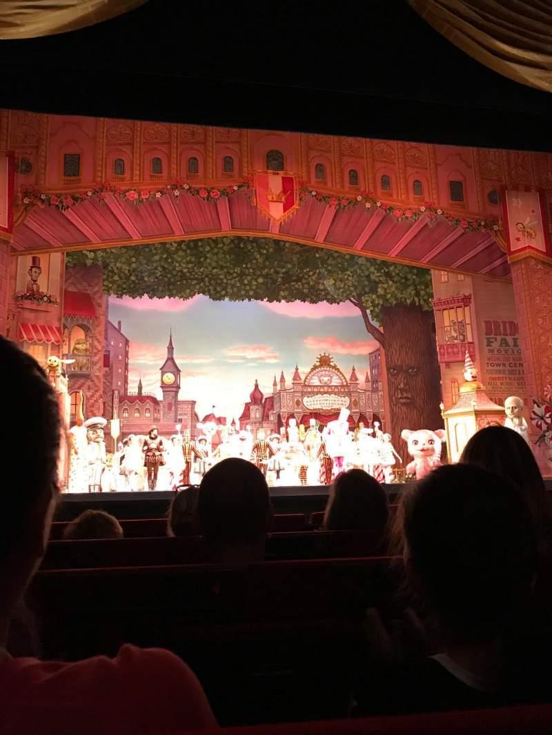 Vistas desde el asiento para Metropolitan Opera House - Lincoln Center Sección Orchestra Fila D Asiento 103