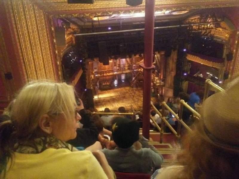 CIBC Theatre, sección: Balcony L, fila: N, asiento: 3