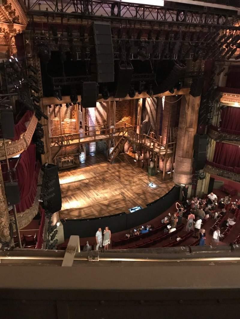 CIBC Theatre, sección: Balcony L, fila: B, asiento: 11