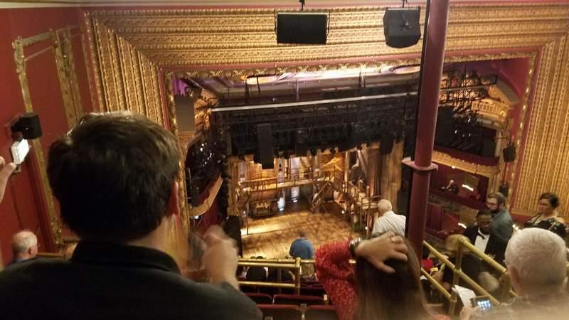 CIBC Theatre, sección: Balcony L, fila: N, asiento: 7