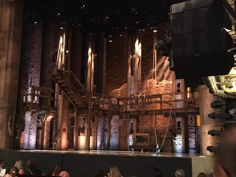 CIBC Theatre, sección: Orchestra right, fila: Row N , asiento: 24