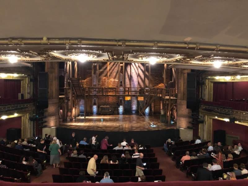 CIBC Theatre, sección: DRCR-C, fila: Row B, asiento: 207
