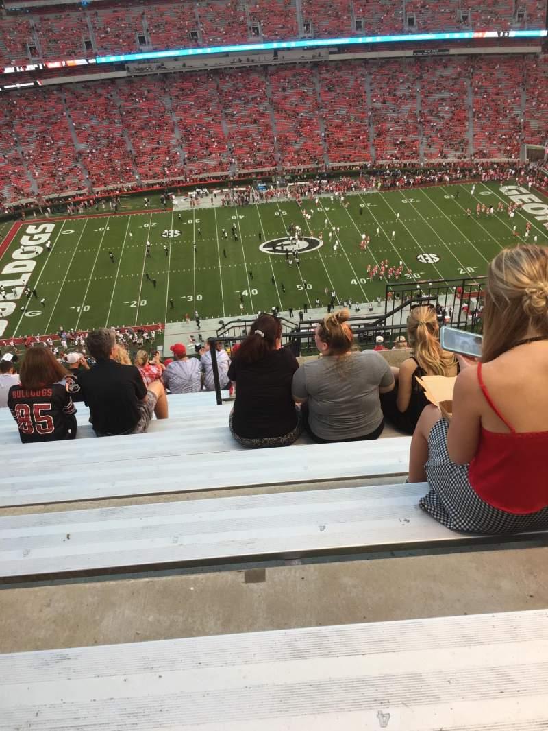 Vistas desde el asiento para Sanford Stadium