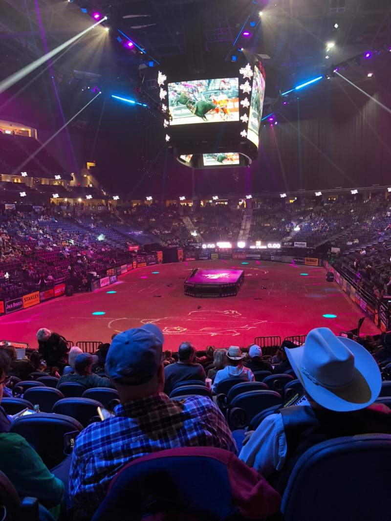 Vistas desde el asiento para T-Mobile Arena Sección 11 Fila R Asiento 11