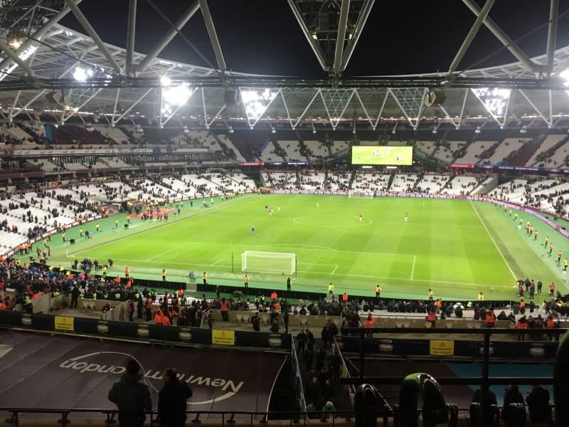 Vistas desde el asiento para London Stadium Sección 224 Fila 53 Asiento 812