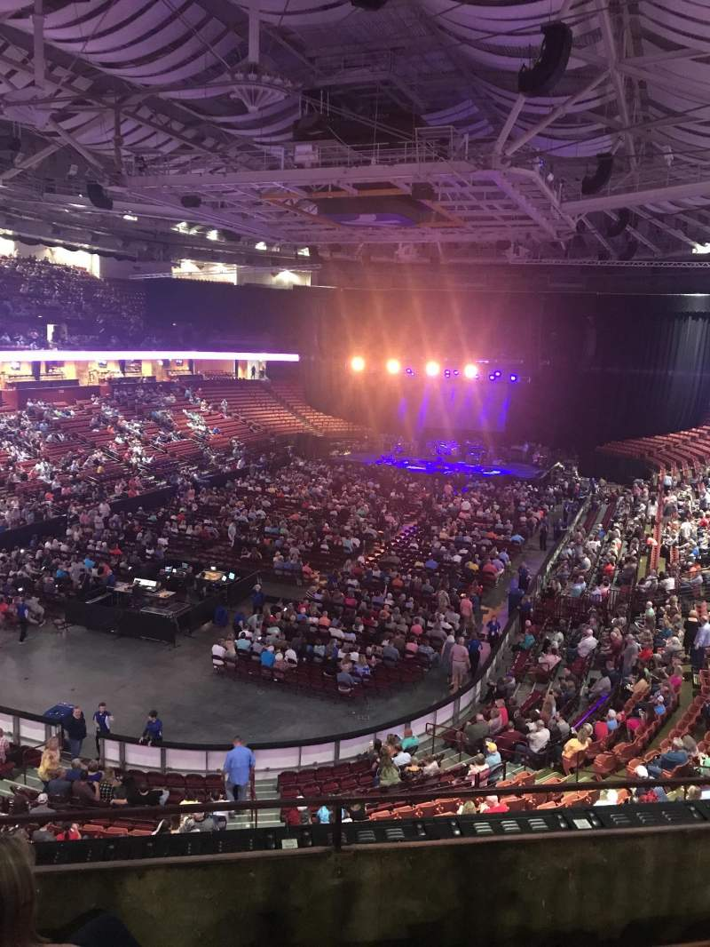 Vistas desde el asiento para Bon Secours Wellness Arena Sección 231 Fila C Asiento 3