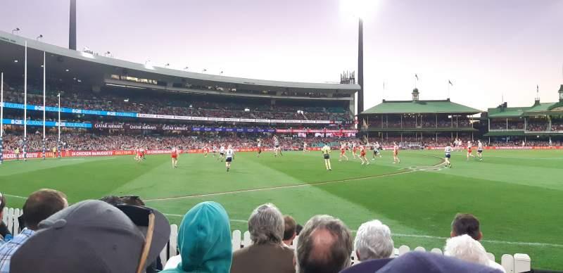 Vistas desde el asiento para Sydney Cricket Ground Sección 12 Fila E Asiento 1