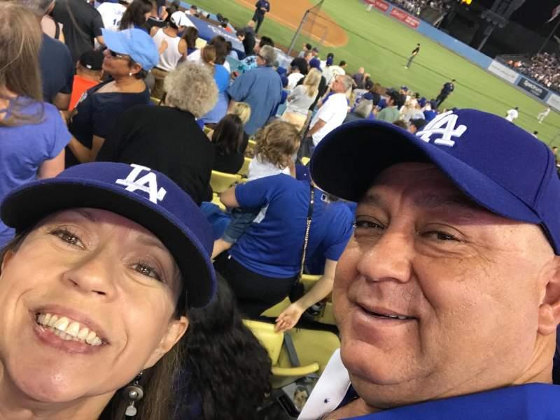 Vistas desde el asiento para Dodger Stadium Sección 22FD Fila K Asiento 4