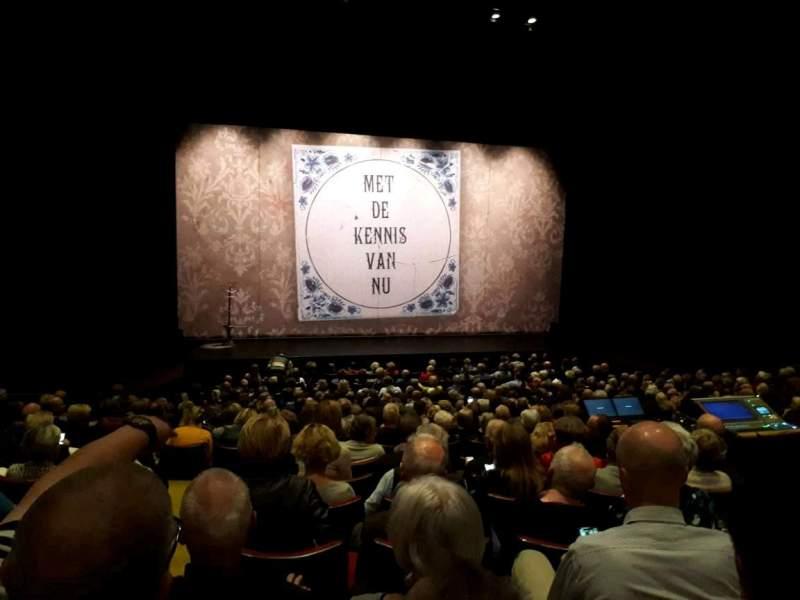 Vistas desde el asiento para Parktheater Eindhoven Sección Grote Zaal Fila 16 Asiento 16