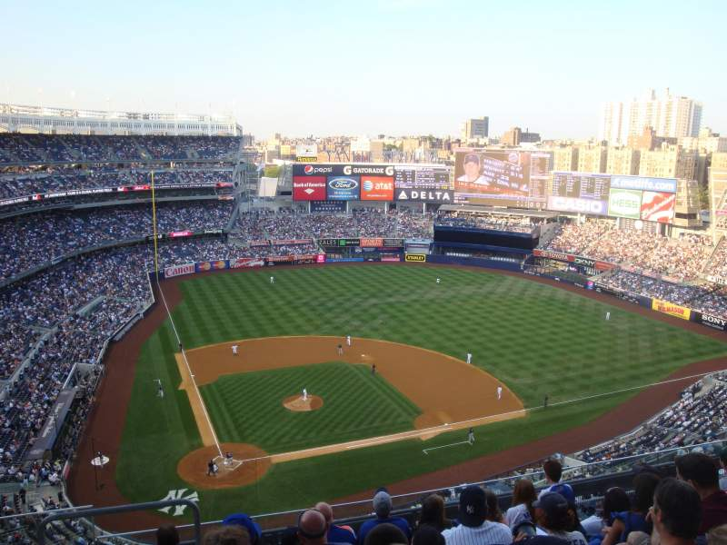 Vistas desde el asiento para Yankee Stadium Sección 418 Fila 7 Asiento 23 and 24