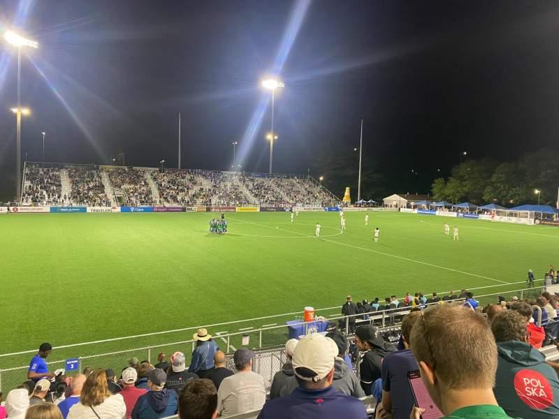 Vistas desde el asiento para Dillon Stadium Sección 3 Fila P Asiento 13
