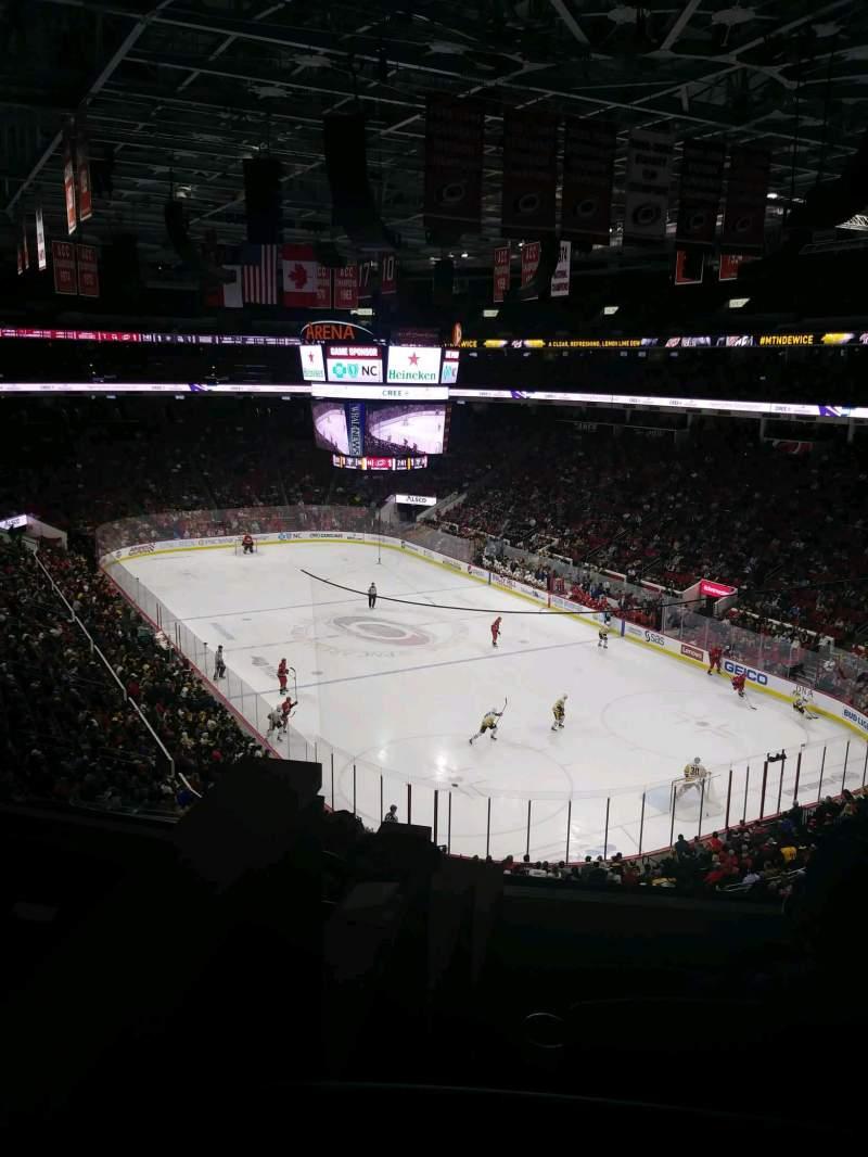 Vistas desde el asiento para PNC Arena Sección 214 Fila E Asiento 12