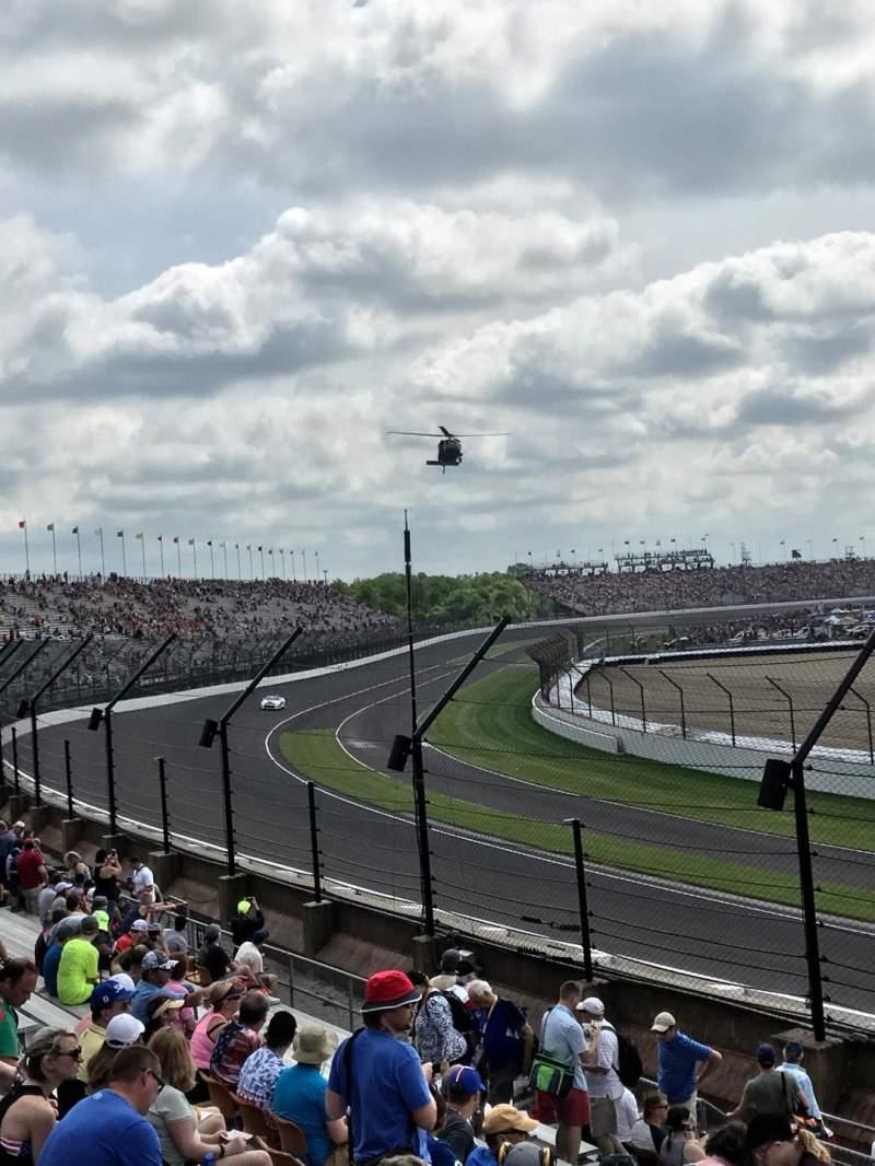 Indianapolis Motor Speedway, sección: N. W. Vista, fila: 33