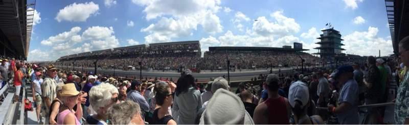 Indianapolis Motor Speedway, sección: Paddock 35, fila: 15