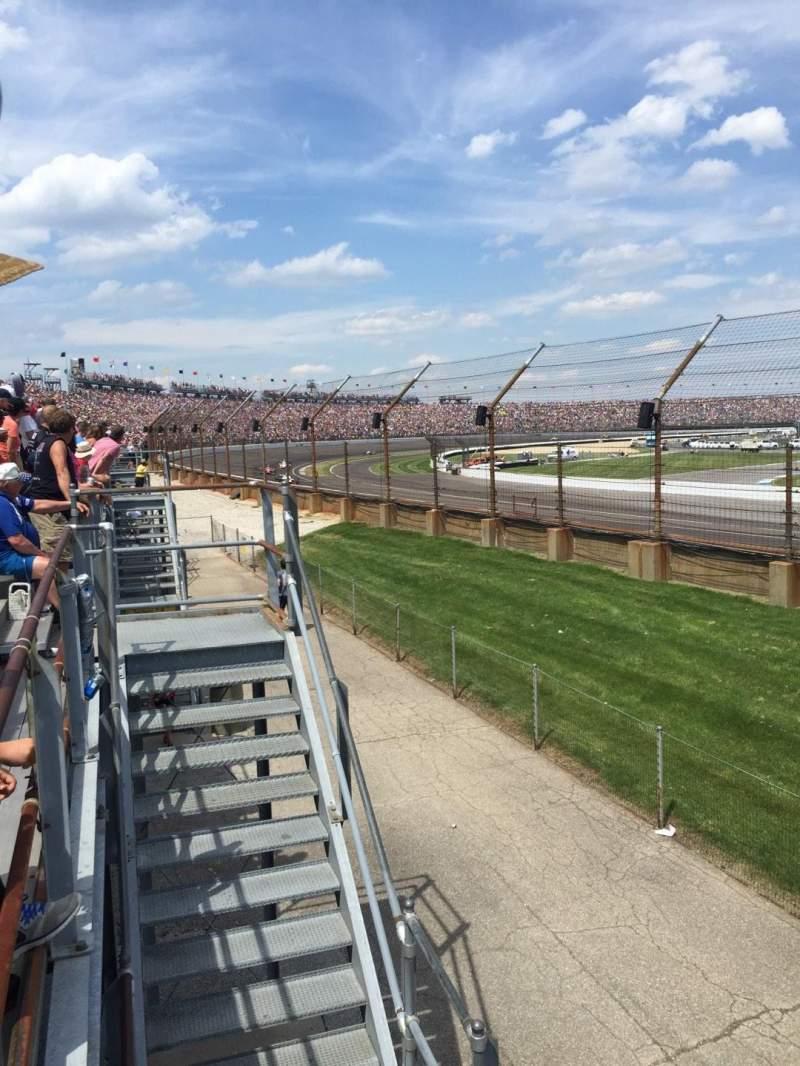 Indianapolis Motor Speedway, sección: H, fila: 1