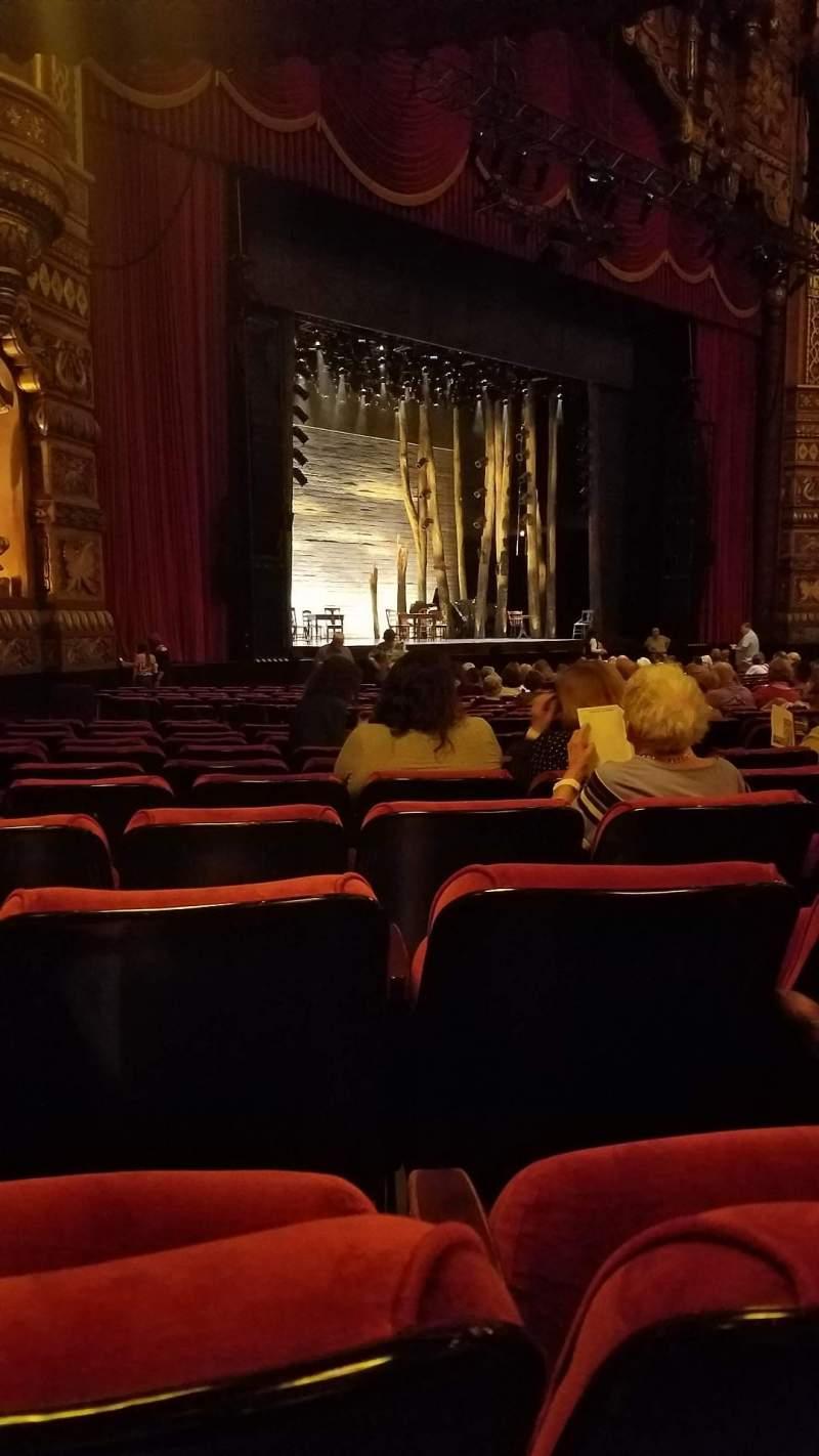 Vistas desde el asiento para The Fabulous Fox Theatre (St. Louis) Sección Orchestra 1 Fila T Asiento 49