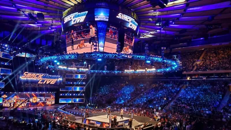 Vistas desde el asiento para Madison Square Garden Sección 119 Fila 14 Asiento 12
