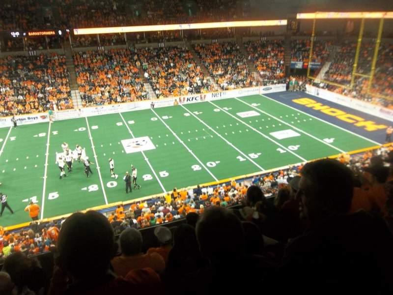 Spokane Arena, sección: 203, fila: K, asiento: 11