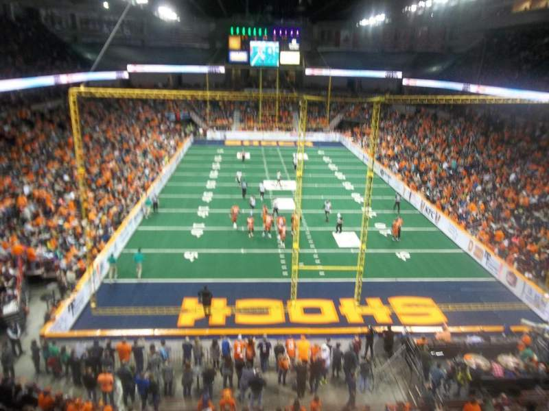 Spokane Arena, sección: 222, fila: L, asiento: 20