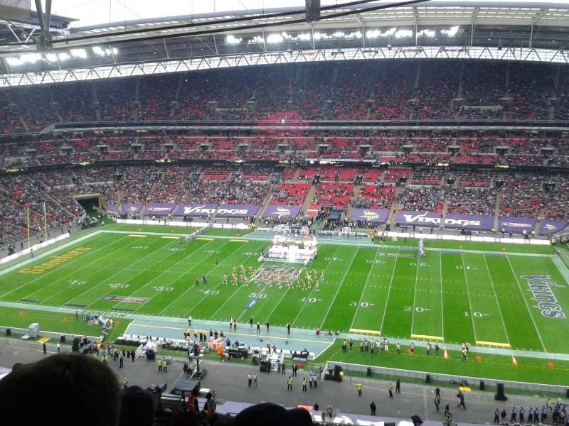 Vistas desde el asiento para Wembley Stadium Sección 524 Fila 25 Asiento 333