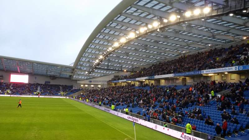 American Express Community Stadium, sección: South Stand