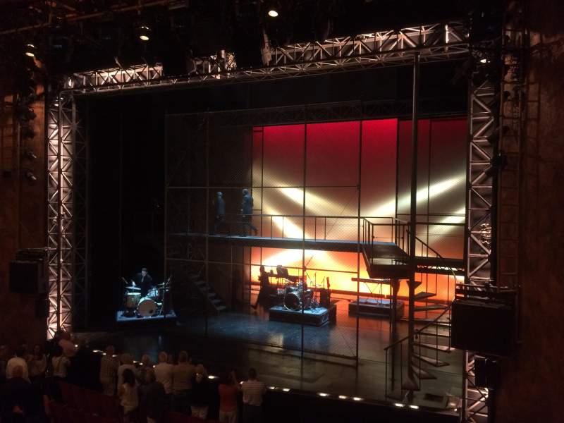 Vistas desde el asiento para August Wilson Theatre Sección Mezzanine R Fila A Asiento 10
