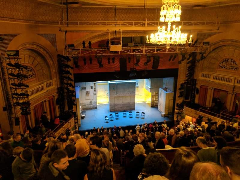 Vistas desde el asiento para Ethel Barrymore Theatre Sección RMEZZ Fila F Asiento 7