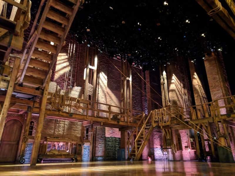 Vistas desde el asiento para Richard Rodgers Theatre Sección ORCH Fila A Asiento 5