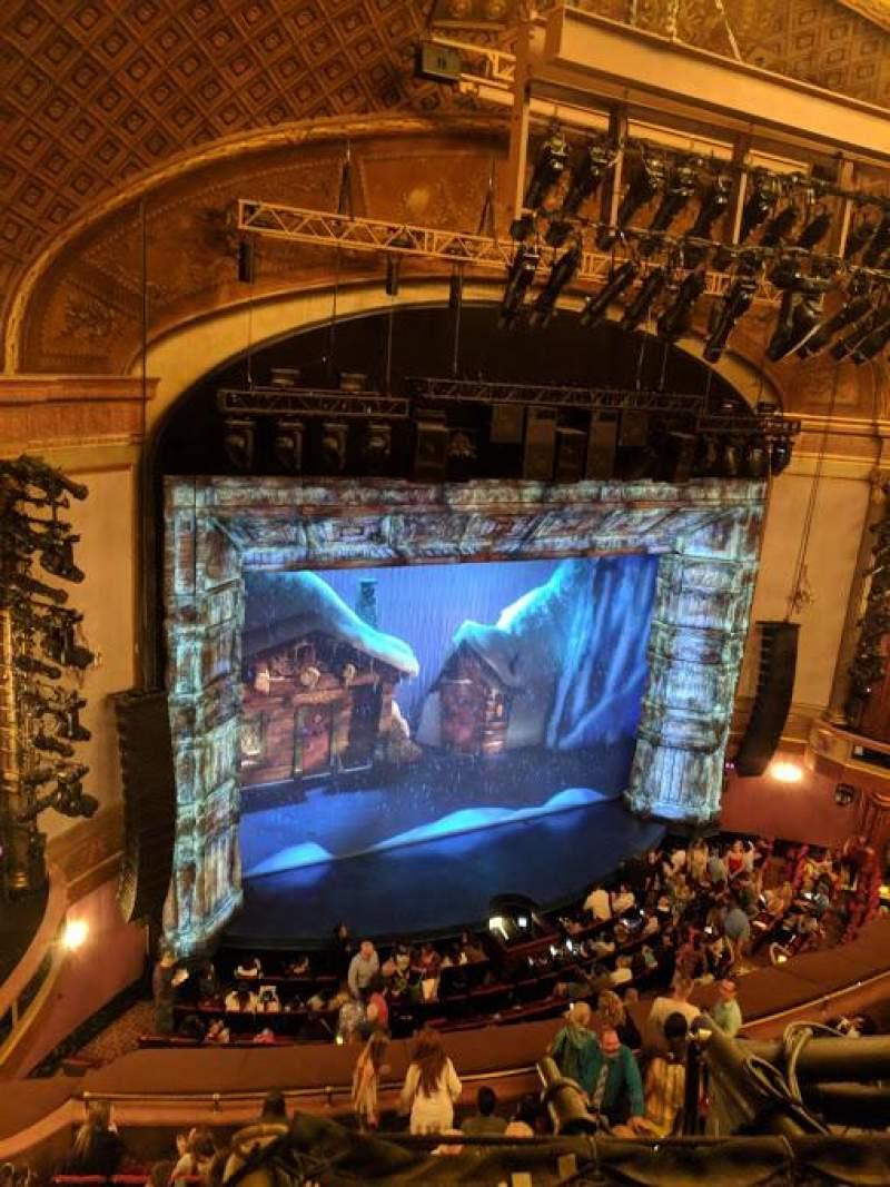 Vistas desde el asiento para St. James Theatre Sección BALCL Fila A Asiento 23