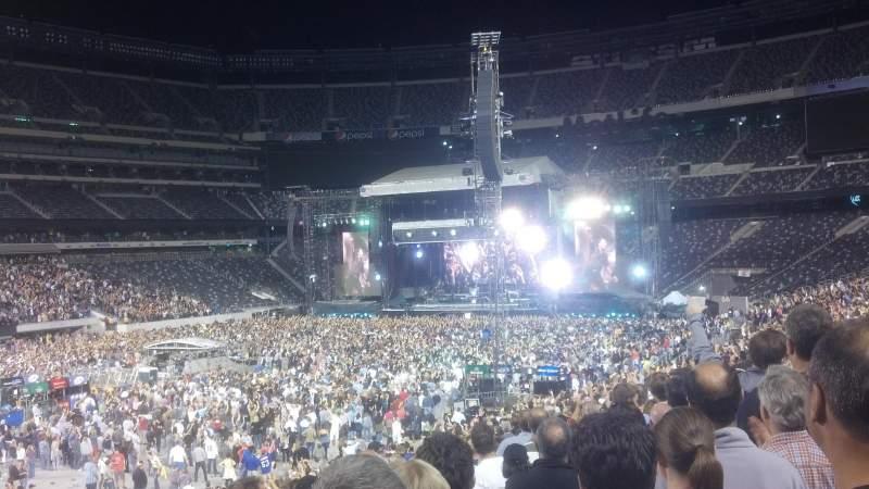 MetLife Stadium, sección: 118, fila: 30, asiento: 26