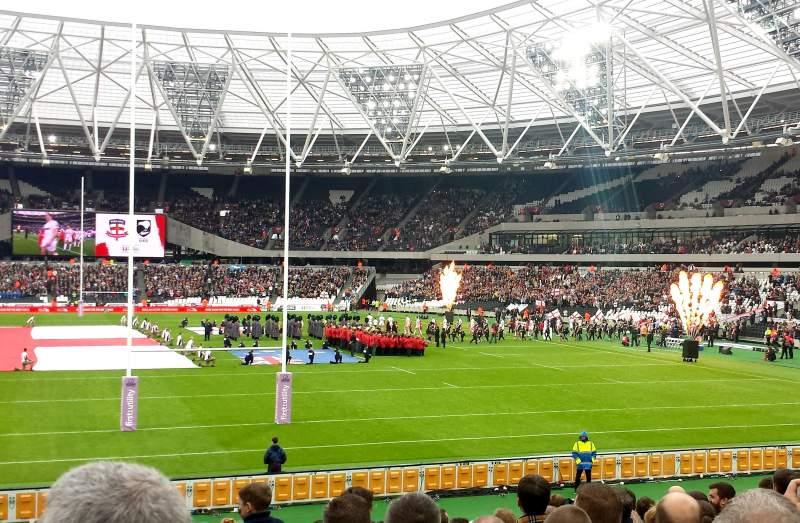 Vistas desde el asiento para London Stadium Sección 148
