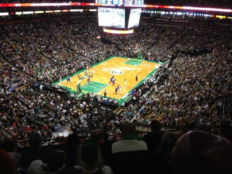 td garden secci n bal 306 fila 5 asiento 10 boston celtics vs philadelphia 76ers